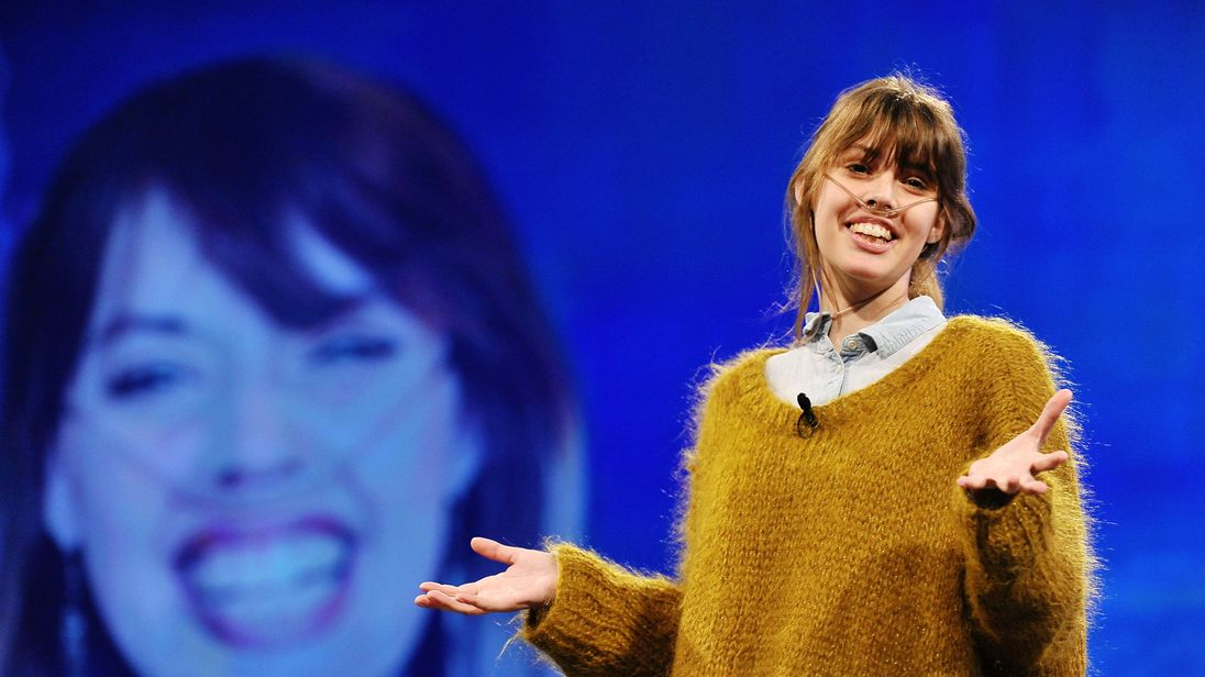 Claire Wineland was diagnosed with cystic fibrosis at birth
