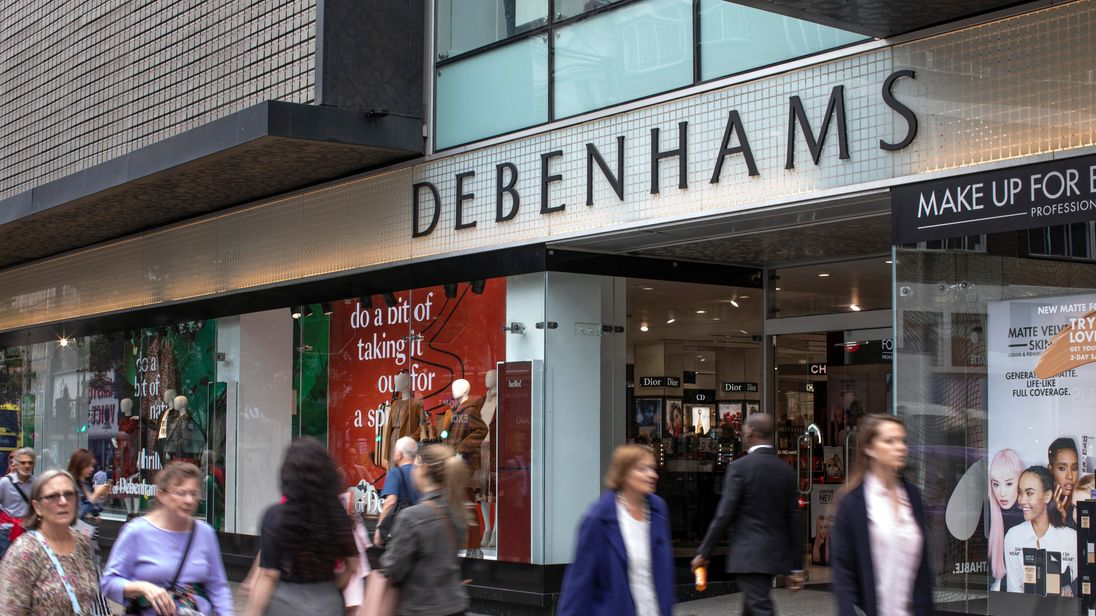 Sports Direct board has 'discussed combining Debenhams and House of Fraser'