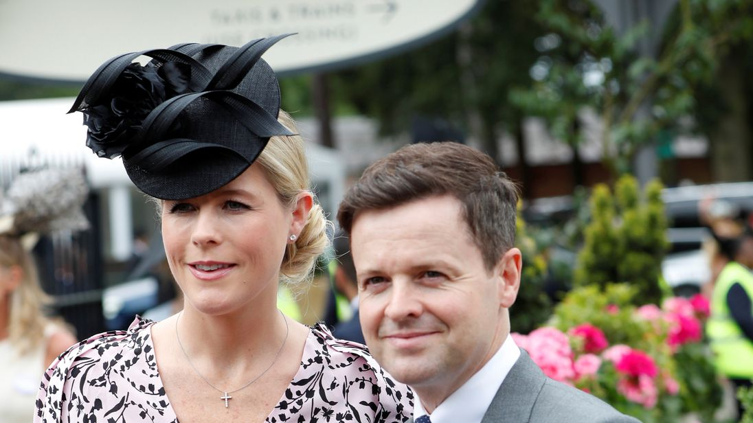 Dec and wife Ali Astall have called their baby girl Isla!