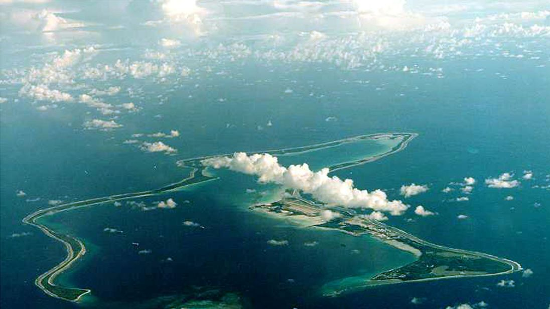Diego Garcia is the largest island in the Chagos
