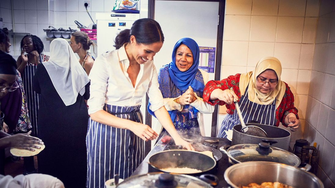 Meghan Markle supports Grenfell community cookbook