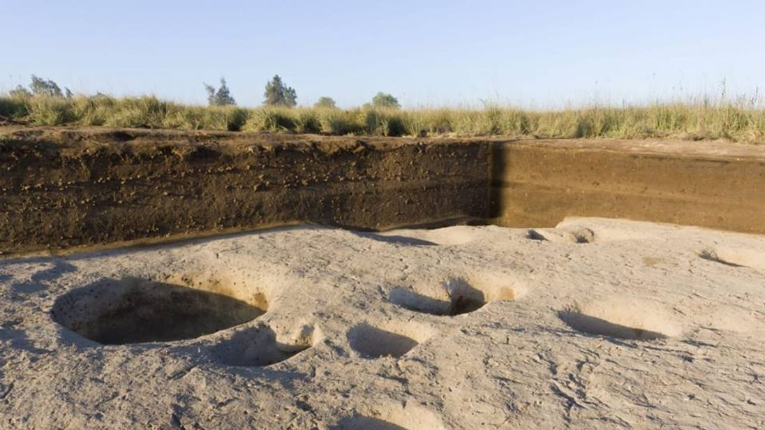 The village is 2,500 years older than the pyramids. Pic: Egypt Antiquities Ministry