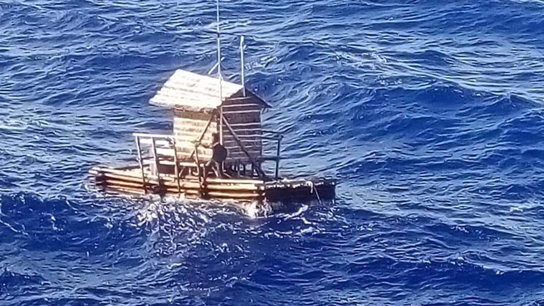 Indonesian teen rescued after seven weeks adrift at sea