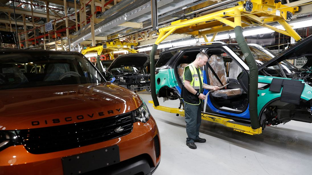 Sales plunge forces Jaguar Land Rover to shut factory for two weeks