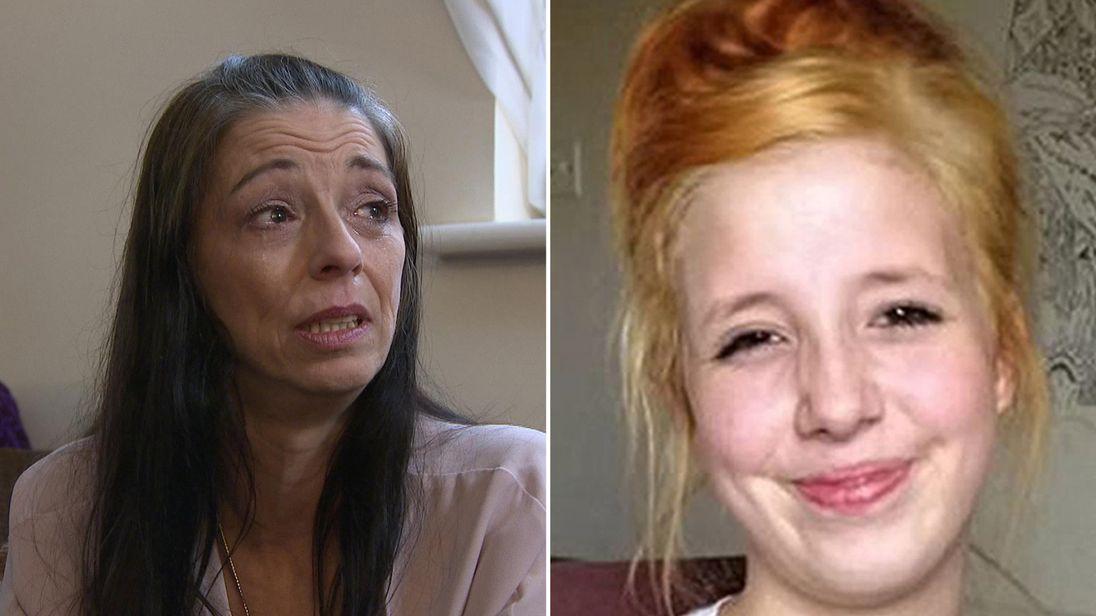 Samatha Shrewsbury and her daughter Jayden