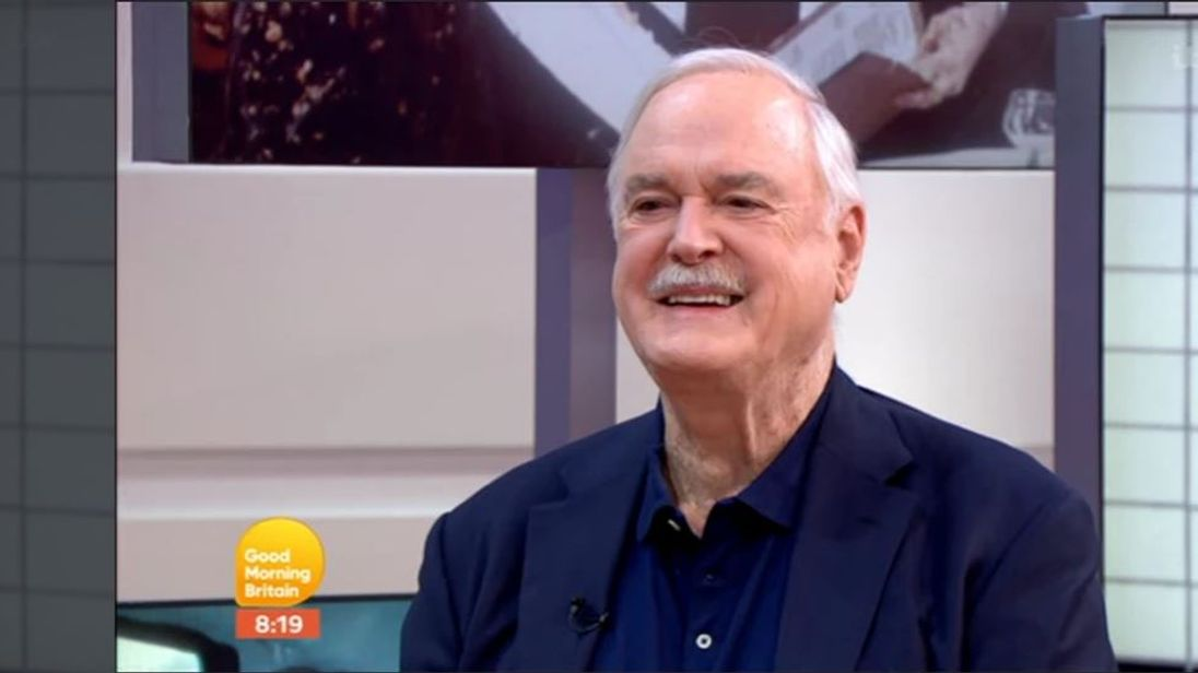 John Cleese appears on Good Morning Britain. Pic: ITV
