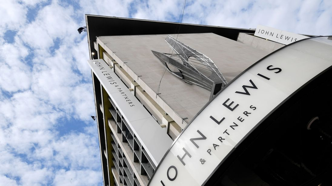 'Challenging times' blamed as John Lewis profits crash by 99%