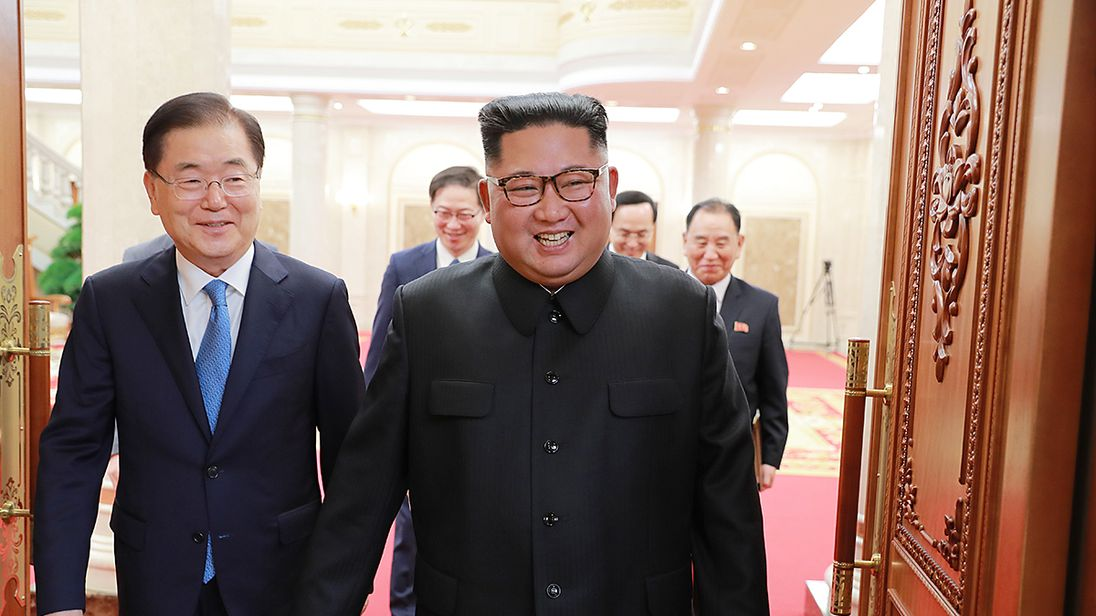 Kim Jong Un has expressed a 'sense of frustration', South Korean officials say