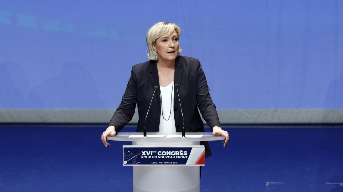 Marine Le Pen attacks 'crazy' court order to undergo psychiatric tests
