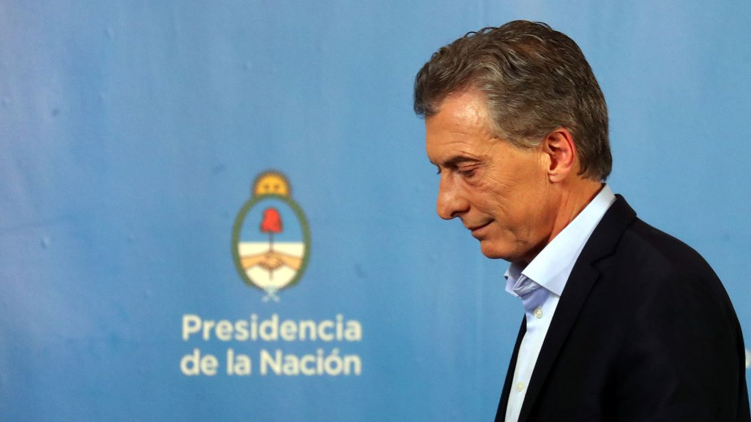Argentina's president Mauricio Macri is imposing a series of austerity measures as the country's economic crisis deepens