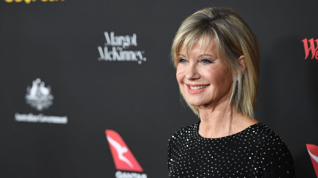 Olivia Newton John arrives for G'Day USA Los Angeles Black Tie Gala January 27, 2018 in Los Angeles California