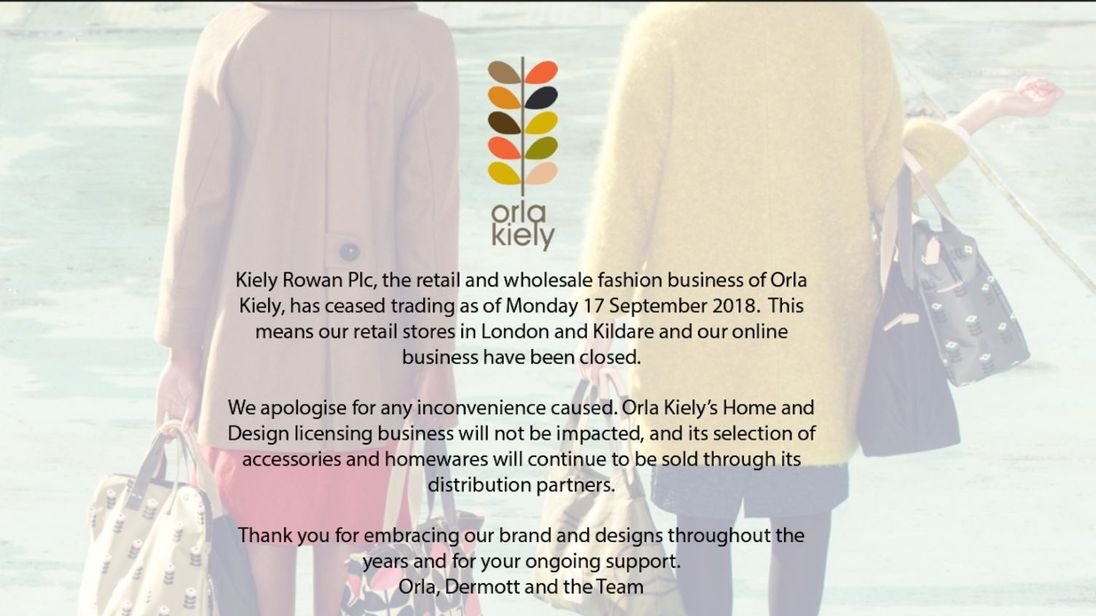 Orla Kiely collapse: Kate Middleton's favourite designer goes in to administration