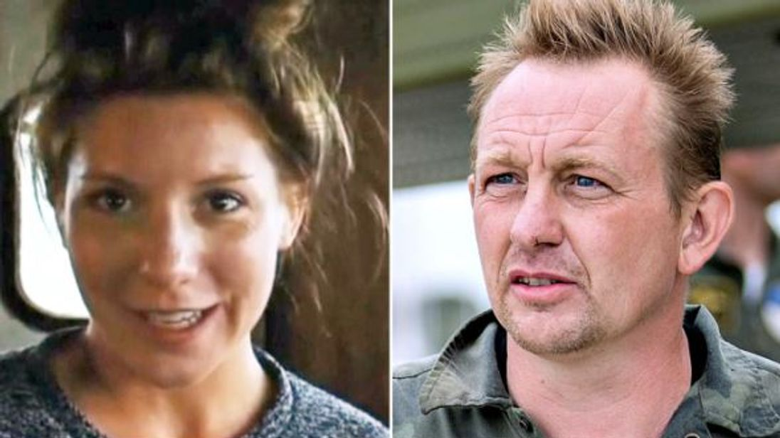 Kim Wall, left, was murdered by Peter Madsen in 2017. Pic: Hendrik Hinzel/Kim Wall Memorial Fund