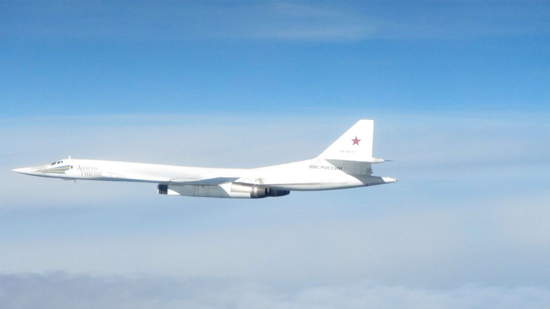 raf intercepts russian bomber jets over north sea after refusing to