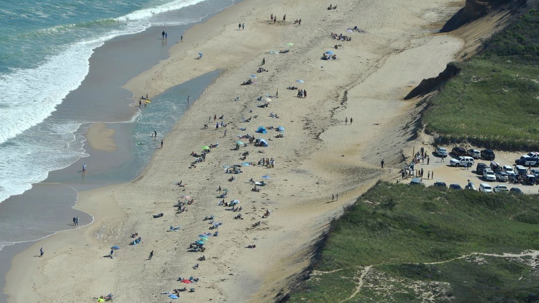 Man killed by shark in Massachusetts' first fatal attack ...