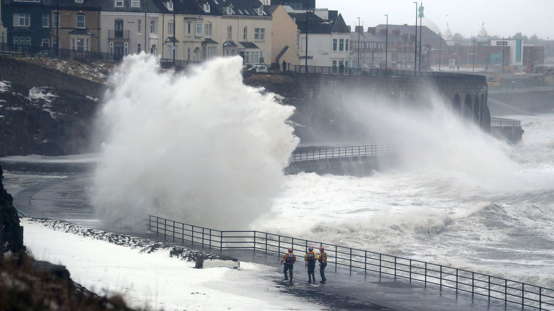 Storm Ali will bring strong winds. File pic.