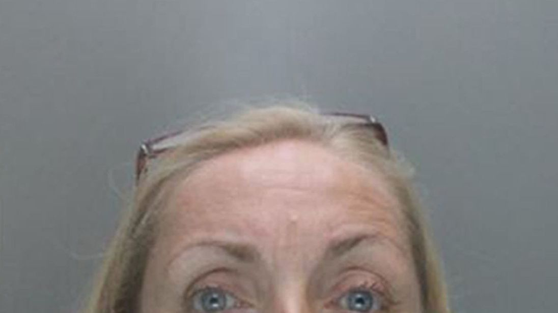 Susan Pain, 51, pleaded guilty to claiming £139,000 through 31 fraudulent insurance claims. Pic: Police handout