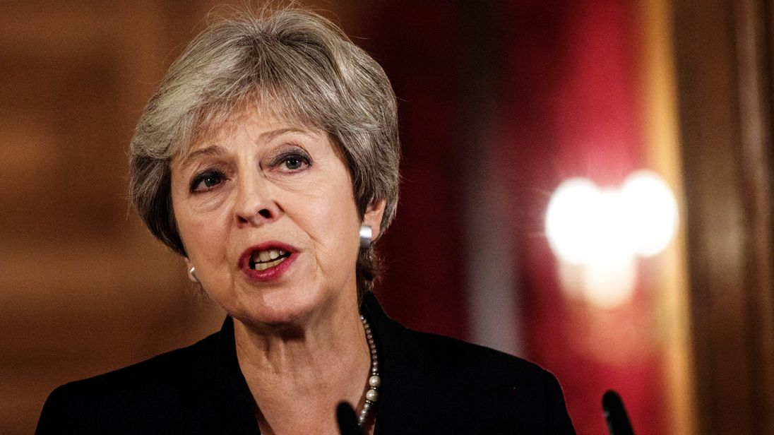 May lobbies European leaders for Brexit deal