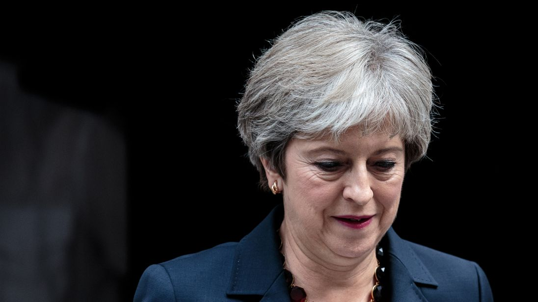 Theresa May could face a no confidence vote after the Tory party conference