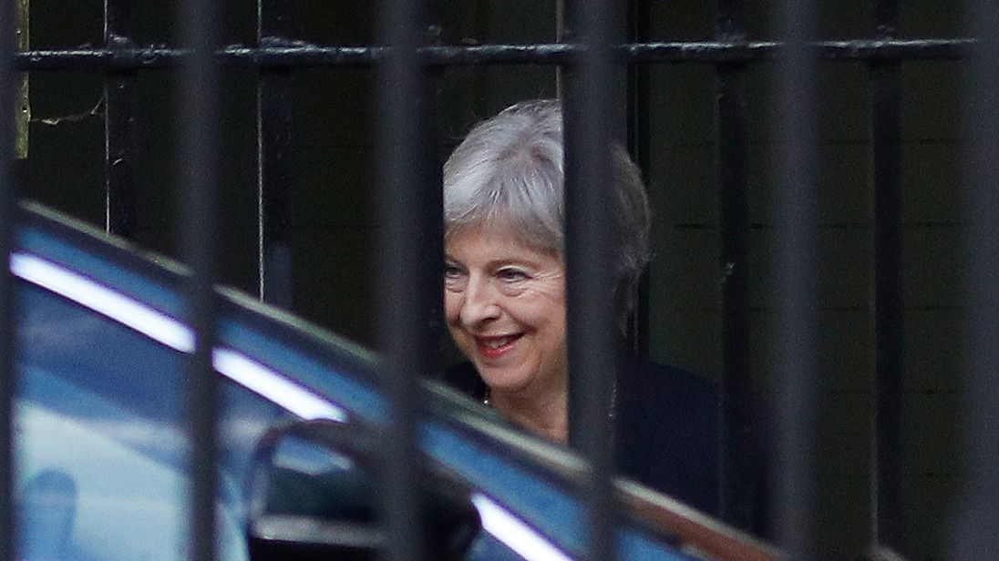 Britain's May Says Brexit Negotiations Have Reached 'an Impasse'