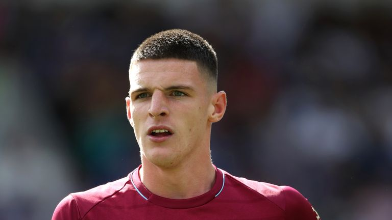Watch the Sunday Supplement guests debate Declan Rice's situation