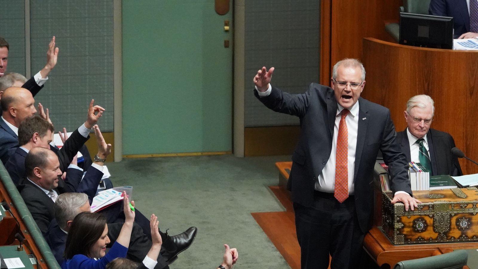 Australian PM Scott Morrison apologises for using explicit Fatman Scoop song in video