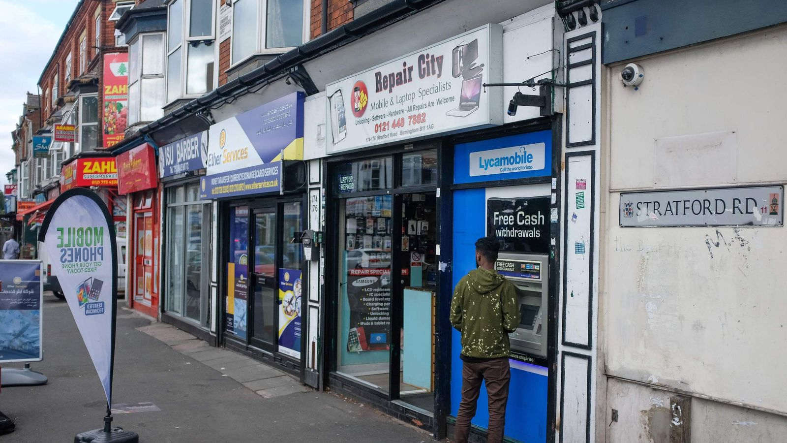 Labour would scrap ATM charges in bid to 'save high streets'