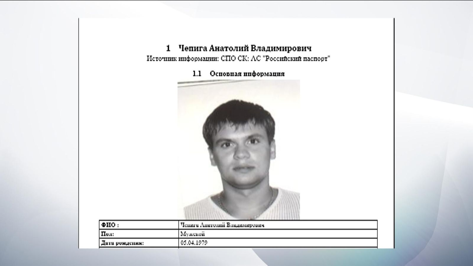 Petrov, Boshirov, Colonel Chepiga. And who do you actually believe 26