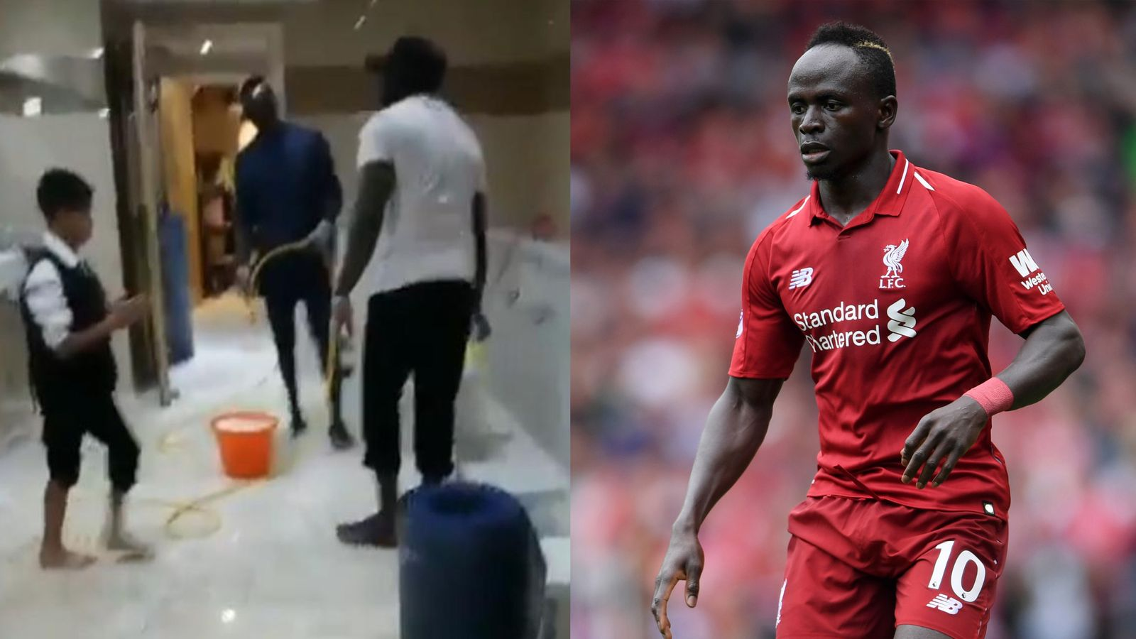 Liverpool Star Sadio Mane Cleans Mosque Toilets After Win