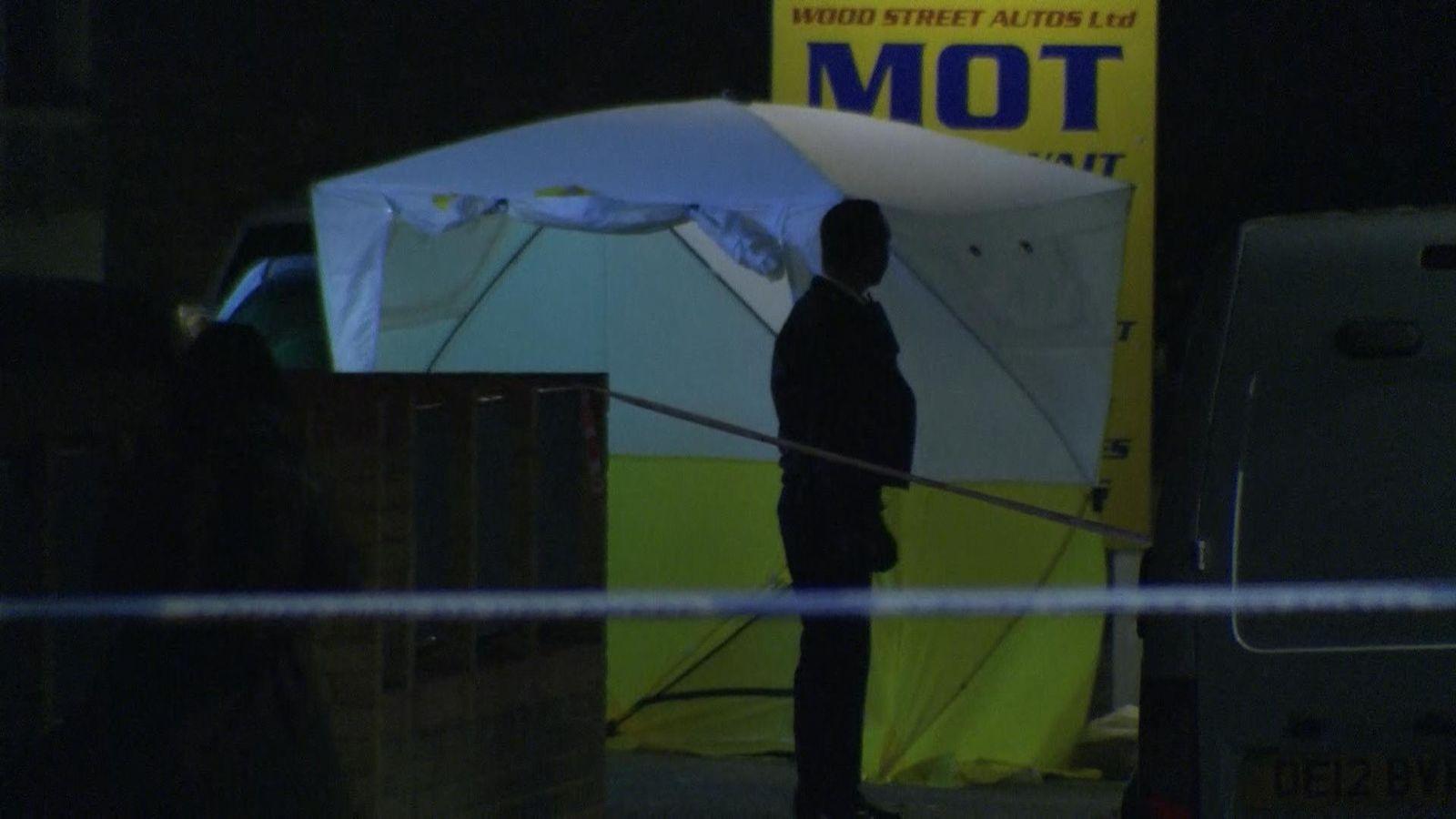 Teenager dies after shooting in east London