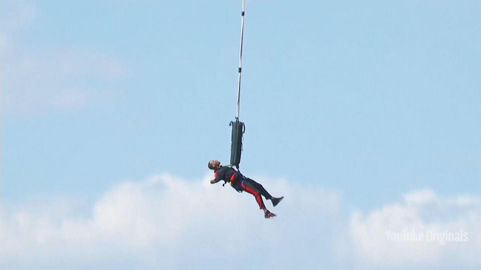Will Smith celebrates 50th birthday with daring bungee jump out of helicopter
