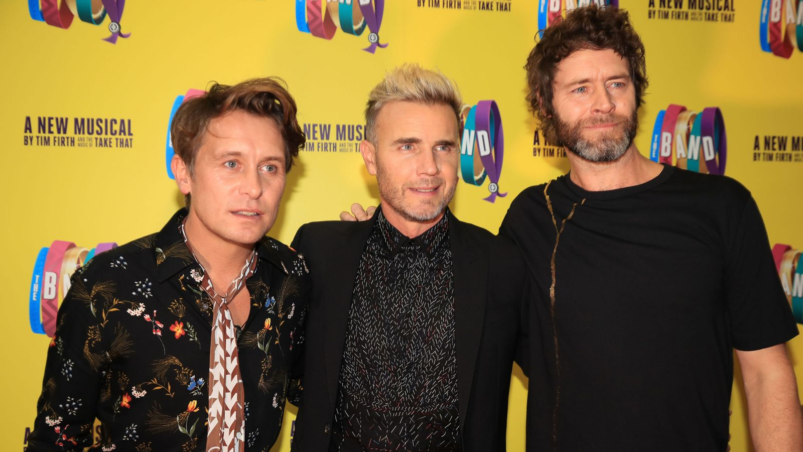 Back For Good: Take That unveil greatest hits tour