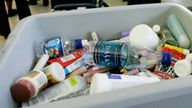 Plastic security trays carry harmful viruses, according to a new study