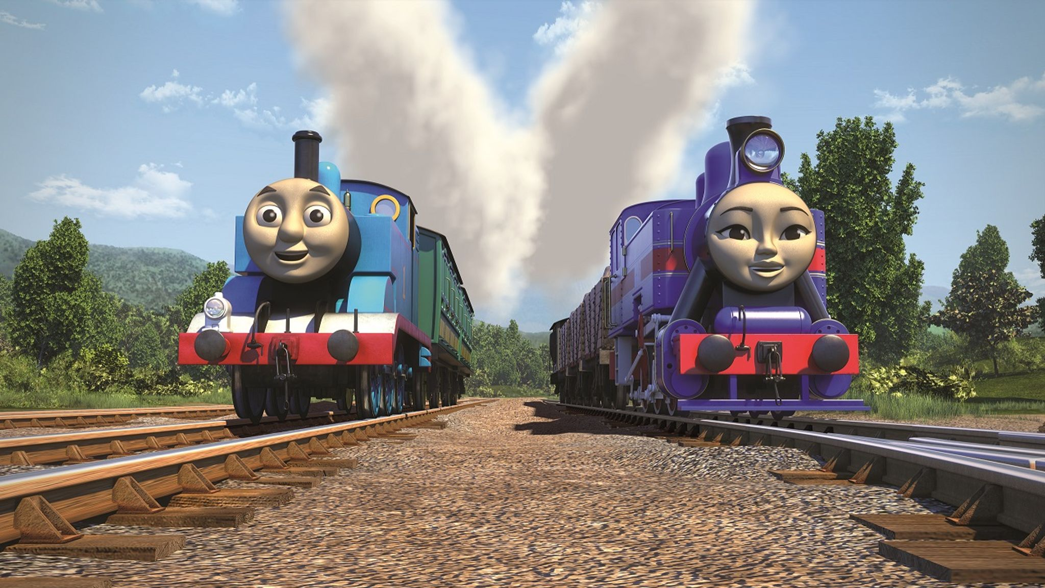 Thomas The Tank Engine S Global Friends Ents Arts News Sky News