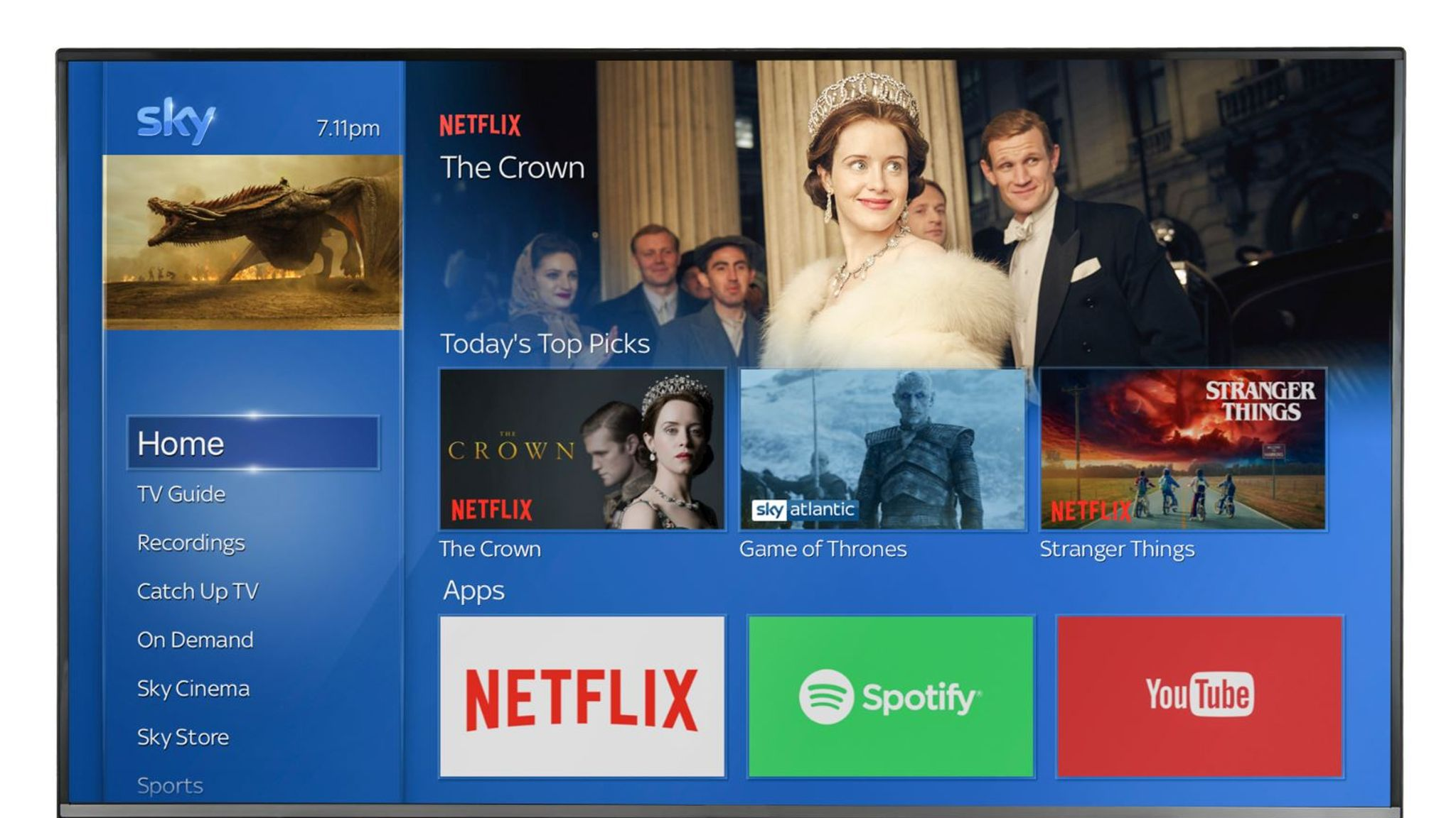 Sky and Netflix announce plans to create 'ultimate' TV