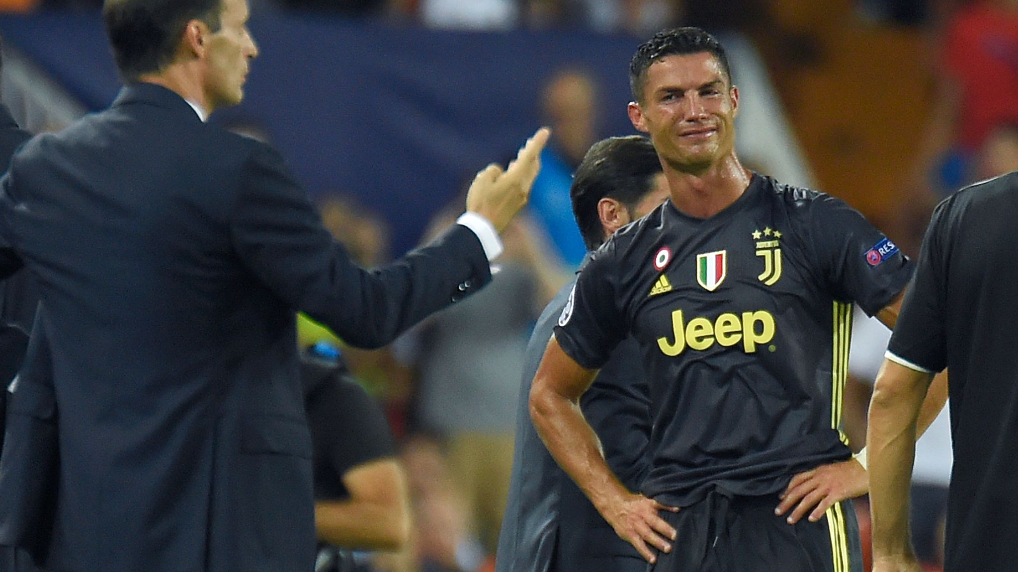 1d47624bbc0 VAR would have prevented Cristiano Ronaldo s red card against Valencia