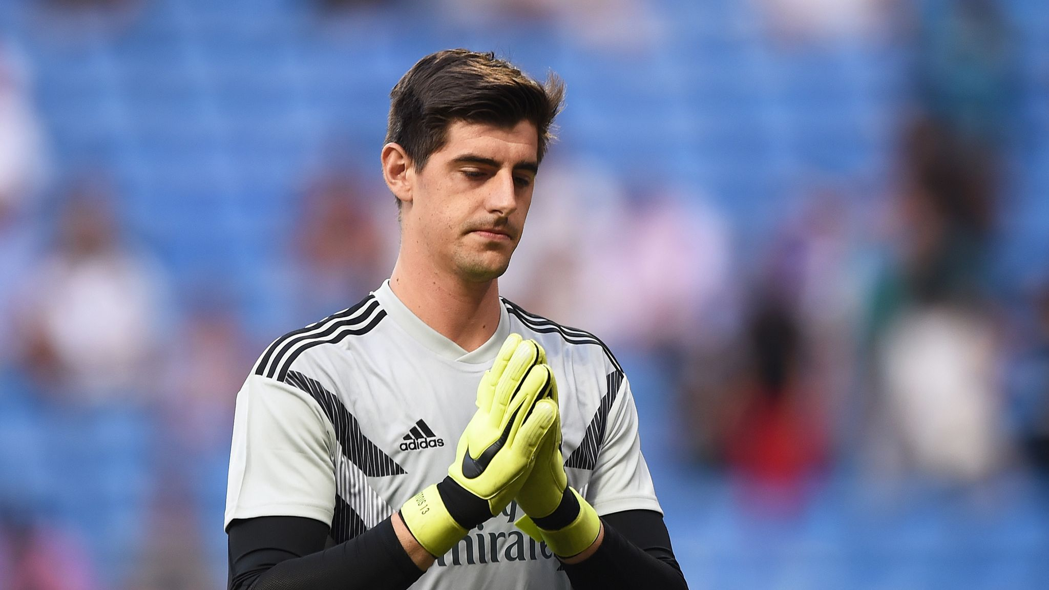 bb807f2ecb4 Thibaut Courtois feels  sad  after Chelsea fans  anger at Real Madrid move