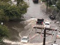 Flash flooding makes driving in Connecticut dangerous