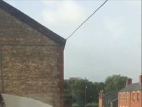 Roof is blown off Dublin shed as Storm Ali blows into town