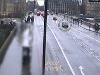 Khalid Masood on Westminster Bridge