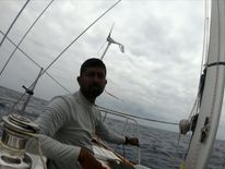 Indian sailor stranded on yacht