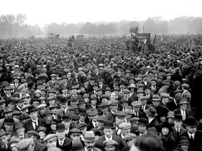 A gathering during the 1926 general strike