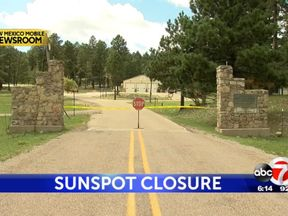 The entrance to the National Solar Observatory. Pic: ABC7 KVIA
