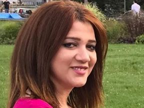 Amal Fathy was arrested in Egypt for posting a video on Facebook condemning sexual harassment and criticising the Egyptian government for their inaction on this issue. Pic: Amnesty International