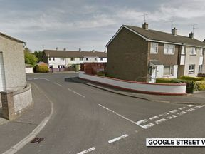 Ballynagard Crescent, Londonderry/Derry, where a crossbow is reported to have been fired during a disturbance