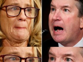 Brett Kavanaugh and Christine Blasey Ford