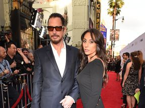 Chris Cornell and wife Vicky in 2017