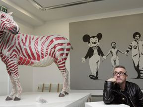 Damien Hirst is reportedly the world's richest living artist