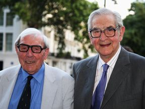 Eric Sykes and Dennis Norden in 2008