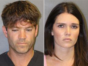 Grant Robicheaux and Cerissa Laura Riley. Pic: Orange Country District Attorney